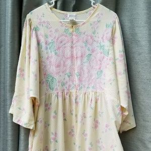 Yellow Floral Night Gown XL